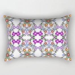 Foral Delight Rectangular Pillow