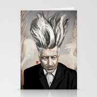 lynch Stationery Cards featuring David Lynch by Khasis Lieb