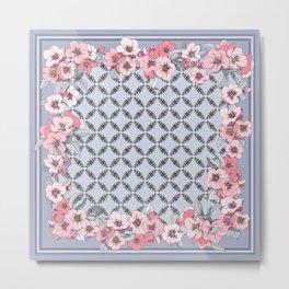 Floral ornament Metal Print