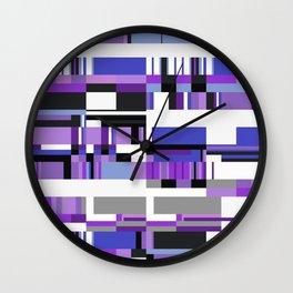 Debussy Little Shepherd (Purples) Wall Clock