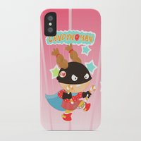 superheros iPhone & iPod Cases featuring Candywoman by Alapapaju