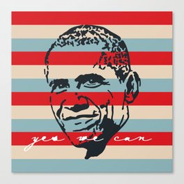 Yes We Can Canvas Print