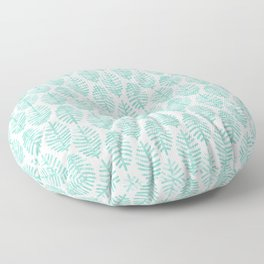 Foliage Pattern Floor Pillow