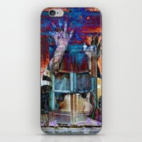 breaking iPhone & iPod Skins featuring BREAKING WALLS  by CAPTAINSILVA