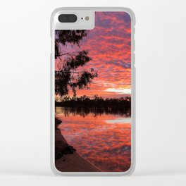 Sunrise on the River Murray Clear iPhone Case