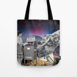 With or without you Tote Bag