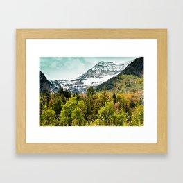 Sundance MTN Framed Art Print