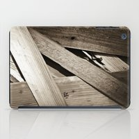 wooden iPad Cases featuring Wooden Layers by mark jones