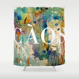 CAOS Shower Curtain
