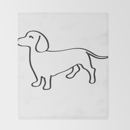 Doxie Love Throw Blanket