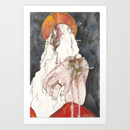 Saint Rose Art Print