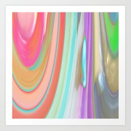 476 - Abstract Colour Design Art Print