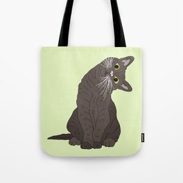 Wanderlust Cat Tote Bag