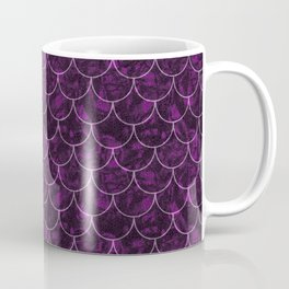 Purple Haze Mermaid Scales Coffee Mug
