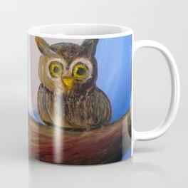 Autumn Owl Coffee Mug