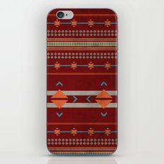 Efinity Pattern Red iPhone & iPod Skin