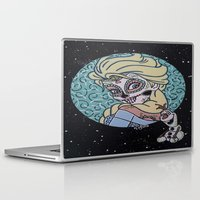 olaf Laptop & iPad Skins featuring Elsa and Olaf by KittyOG