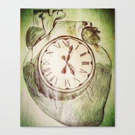 Internal Time Canvas Print