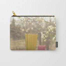 Pink Lemonade Parasol, Umbrella, Nature, Bokeh  Carry-All Pouch