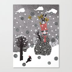 Snow Magician Canvas Print