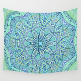 Heart of the Forest - Mandala Design Wall Tapestry