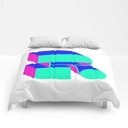 Letter R Comforters