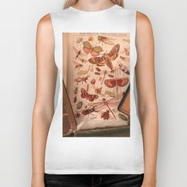 Vintage Insects 2 Biker Tank