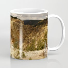 Yellow Rocks Of The Yellowstone Valley Coffee Mug