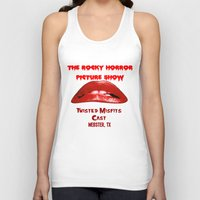 rocky horror picture show Tank Tops featuring Rocky Horror Picture Show Cast TShirts by JackieJackal