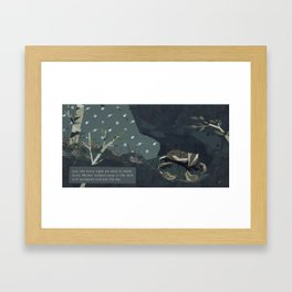 Shelter - Family Framed Art Print