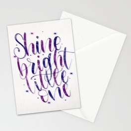 Shine Bright Stationery Cards