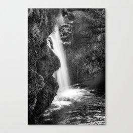 Alpine autumn, Austria Canvas Print