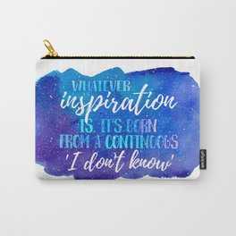 Cosmic Insp Quote Carry-All Pouch