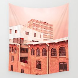 Urban Puzzle Wall Tapestry