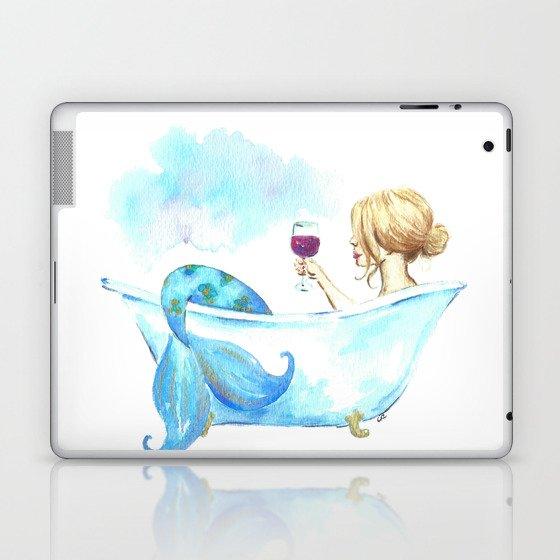 Bathtub Mermaid Laptop & iPad Skin by imagodeinurserydecor | Society6