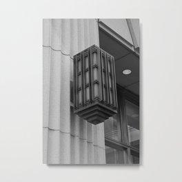 Wall Street Light Metal Print
