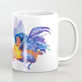 Watercolor of flying bantam Coffee Mug