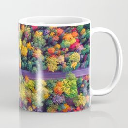 The Autumn Forest (Color) Coffee Mug