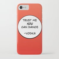 vodka iPhone & iPod Cases featuring Dance Vodka by Goretti
