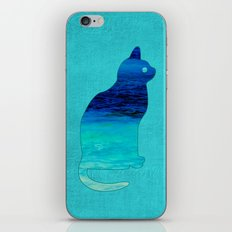 SEA CAT iPhone & iPod Skin