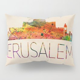 Jerusalem vintage   Pillow Sham