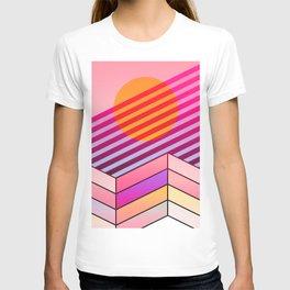California Trippy Sunset T-shirt
