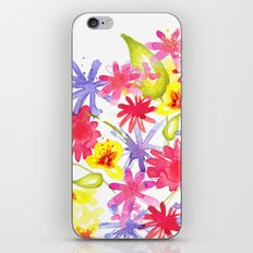 Fresh Flowers iPhone & iPod Skin