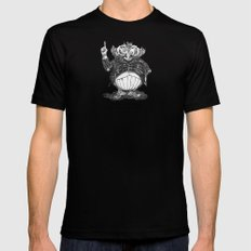 THE KNOWITOWL MEDIUM Black Mens Fitted Tee