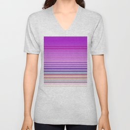 Wild lines pink Unisex V-Neck
