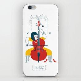 Cellist iPhone Skin