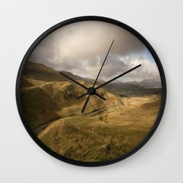 Snowdonia Wall Clock