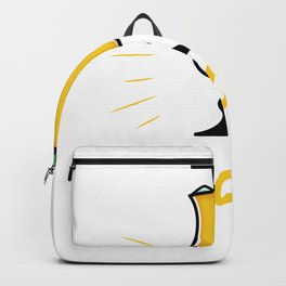 Without fun, Pina Colada have a saying Backpack