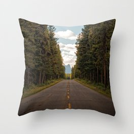 Looking For A Place To Happen Throw Pillow
