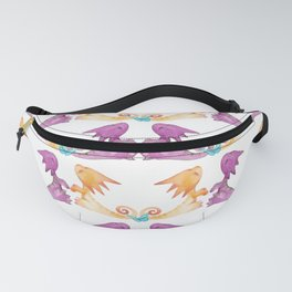Baby Dragons and Butterflies Fanny Pack